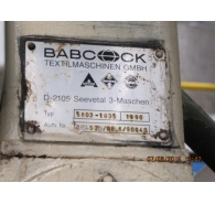 Used Babcock Continuous Bleaching & Washing Machine