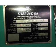 Used Karl mayer RD6 DPLM 12-3